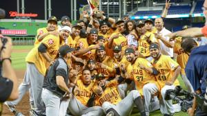 Las Aguilas Cibaeñas Gana Serie de las Américas en Marlins Park