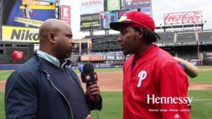 """Entrevista con Maikel Franco """"Latinos en Beisbol"""" Presentado por Hennessy"""